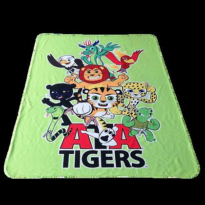 ATA Tigers Fleece Blanket