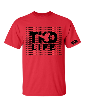TKD Life Red T-Shirt