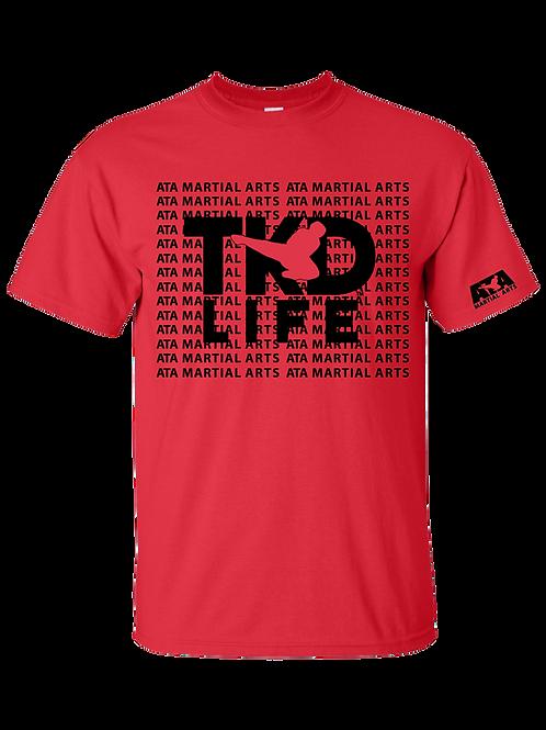TKD Life Red T-Shirt