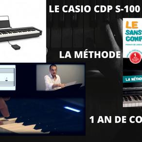 Un pack piano +méthode + cours, idéal pour débuter ?
