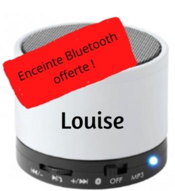 Enceinte Louise offerte