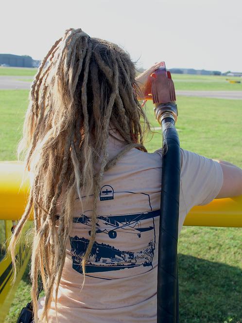 FLY OZ Cub River T-Shirt (Tan)