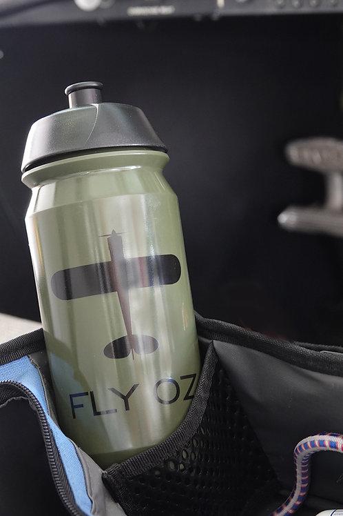 500ml Bike Cage Water Bottle (Olive)