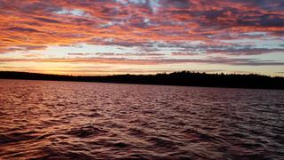 Sunset on Big Lake