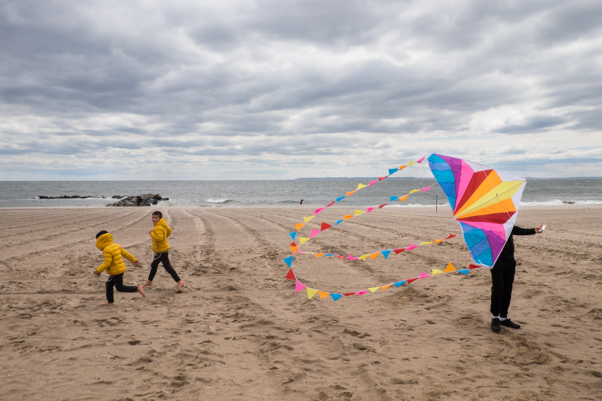 A Cloudy Day in Coney
