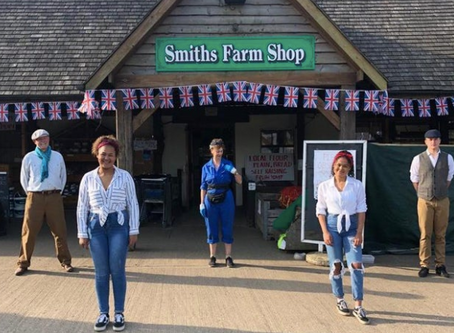 Customers praise 'outstanding' Northampton farm shop amid Covid-19 crisis