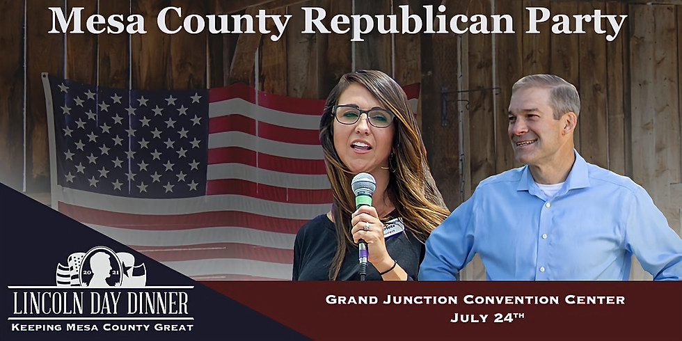 Lincoln Day Dinner Mesa County!
