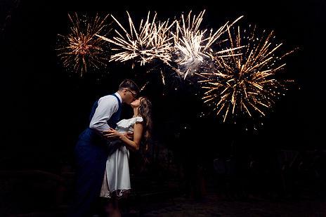 vestuvinė fotosesija saliutai