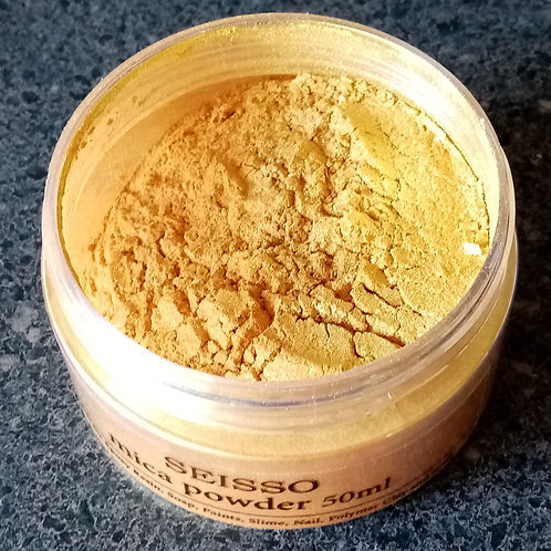 Mica Powder Gold 50 Ml