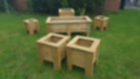 A selection of Plant Boxes