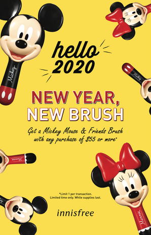Innisfree Disney Promo Poster