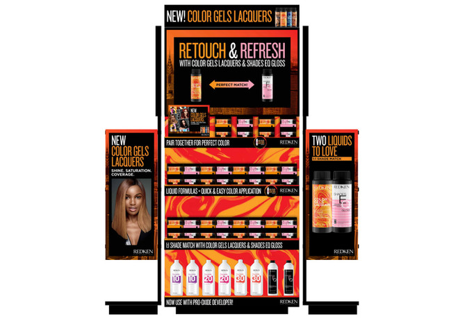 Redken Color Gels Lacquers & Shades EQ Endcap