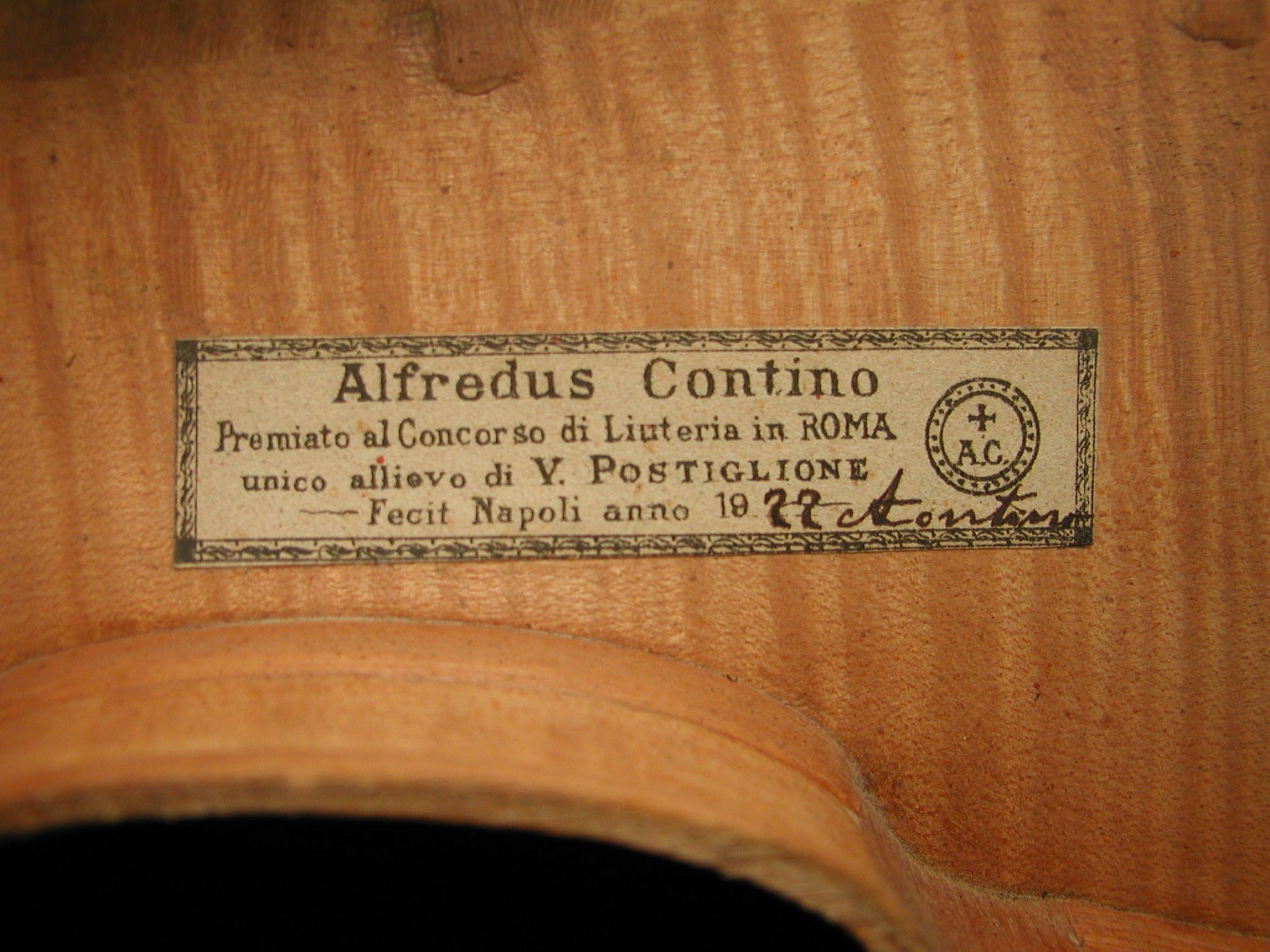 contino violin interior Richard Gagliardi Violin Maker, Northern New Jersey