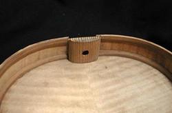 Rib Repair Richard Gagliardi Violin Maker, Northern New Jersey