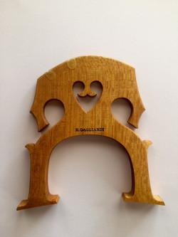 cello bridge Richard Gagliardi Violin Maker, Northern New Jersey