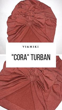 CORA Turban In Mauve