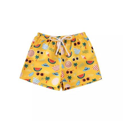 """""""Devon"""" Summer Boy Swim Shorts"""