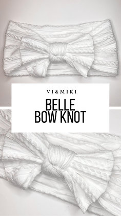 BELLE Bow Knot In White
