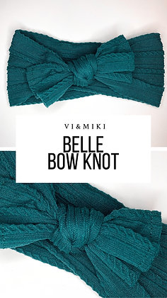 BELLE Bow Knot In Deep Teal