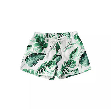 """Tyler"" Palm Boy Swim Shorts"