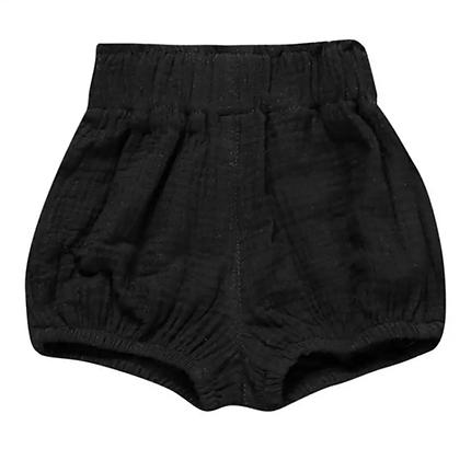 """""""DORA"""" Highwaist Shorts In Black"""