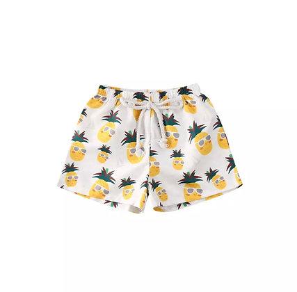 """Milo"" Pineapple Boy Swim Shorts"