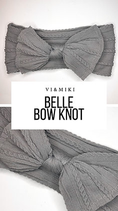 BELLE Bow Knot In Gray