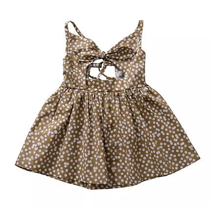 """LYNDON"" Peeka Boo Polka Dot Dress"