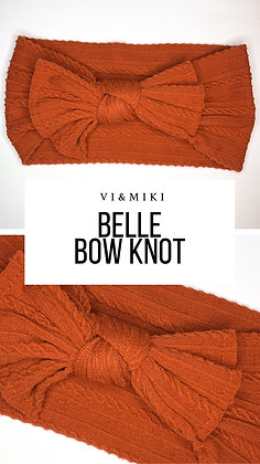 BELLE Bow Knot In Burnt Orange