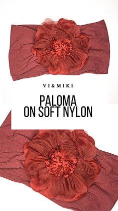 PALOMA Headband In Maroon