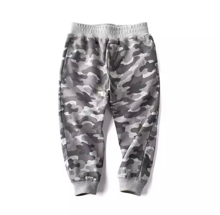 Gray Camo Pants