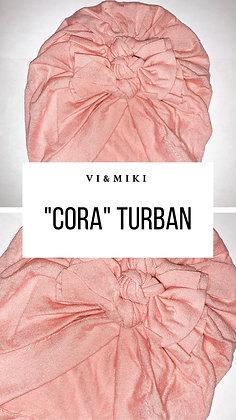 CORA Turban In Pink