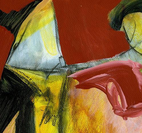Red Sea Giclee Print