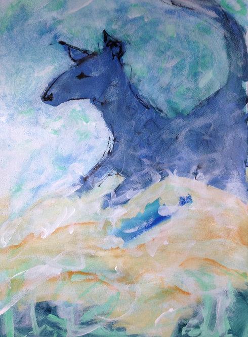 Beach Frolic Giclee Print (medium)