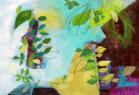 SOLD - Chagall's Garden