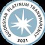 Guidestar Platinum Transparency 2021 Badge