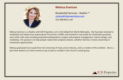 Melissa Evertson - Agent