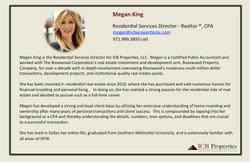 Megan King - Director