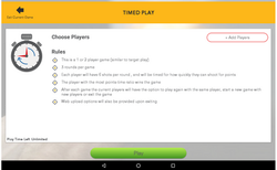 Timed Play Rules