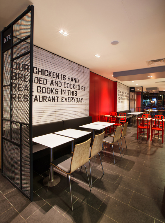 KFC Dekorasyon