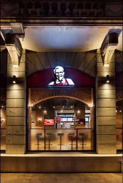 KFC Flagship Dekorasyonu