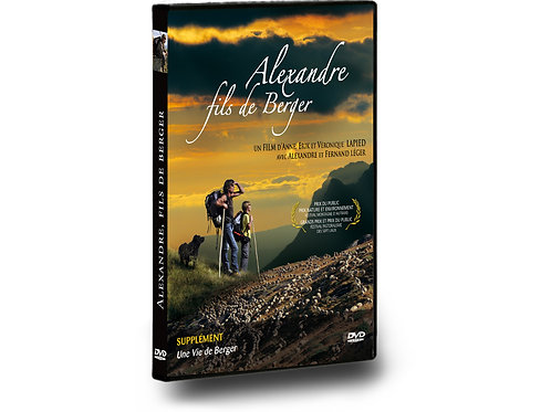 """DVD """"Alexandre, Fils de Berger"""""""