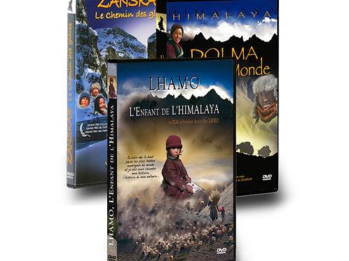 DVD Trilogie Himalaya