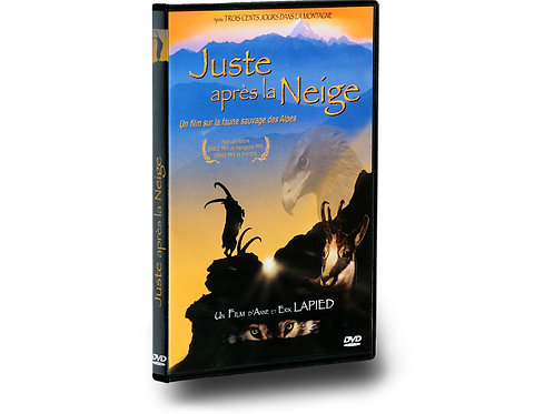 "DVD ""Juste après la Neige"""