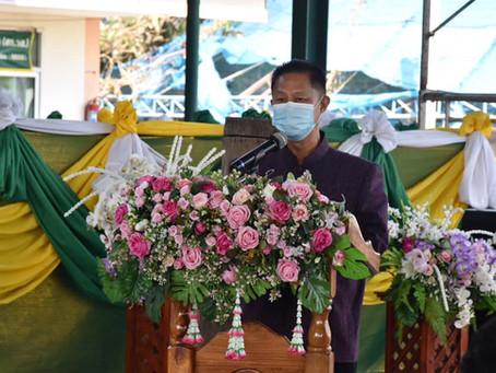 ดร.รณวริทธิ์ เป็นประธานจัดนิทรรศการเทคโนโลยีและนวัตกรรมการผลิตสินค้าเกษตรแปลงใหญ่