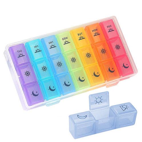 7日21格藥盒