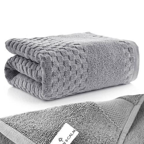 頂極美國厚棉柔膚吸水浴巾 深灰色