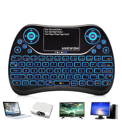 掌上多媒體觸控無線鍵盤 適用平板、電腦、電視等