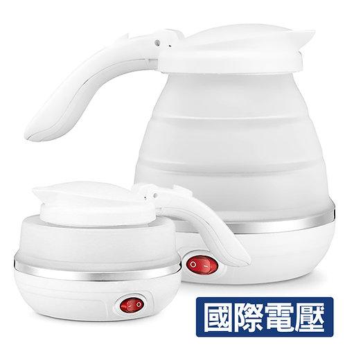 可調溫旅用折疊快煮壺 750mL 國際電壓100-220V 煮水壺 熱水壺