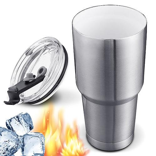 304不鏽鋼陶瓷保冰杯 900mL 陶瓷保溫杯